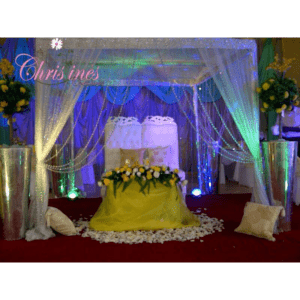 Wedding decor by Christines Creatives