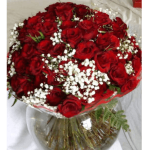100 fabulous red roses
