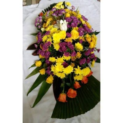 funeral flowers in lagos casket saddle